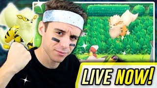 LIVE LET'S GO SHINY HUNTING ~ FULL ODDS SHINY FOUND!! | Supreme Stream