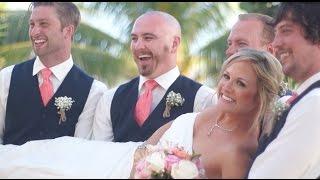 Alyson & Jordan's Romantic Beach Wedding