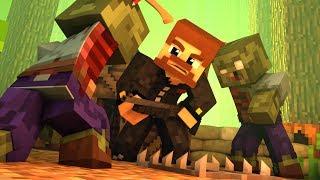 Minecraft Zombies #1 - НАСТОЯЩИЙ ЗОМБИ АПОКАЛИПСИС! НОВЫЙ РЕЖИМ