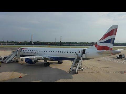 Trip Report: BA Cityflyer (ECONOMY) Frankfurt to London City (Embraer E190)