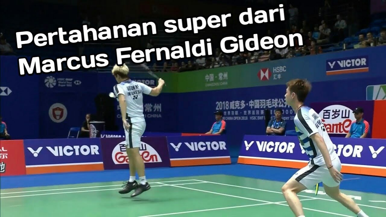 Highlight China Open 2018 - Marcus/Kevin vs Isriyanet/Namdesh