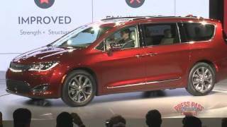 2016 Detroit Auto Show - Chrysler Pacifica Introduction