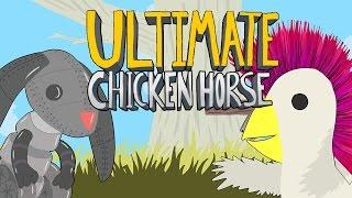 Ultimate Chicken Horse - АДСКАЯ ДИСКОТЕКА