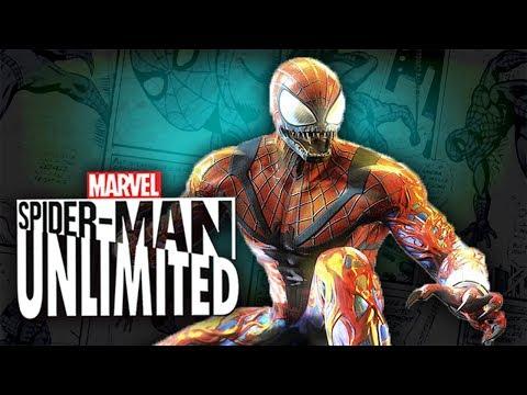 Spider-Man Unlimited gameplay traning stage #1 (мобильная версия) iOs