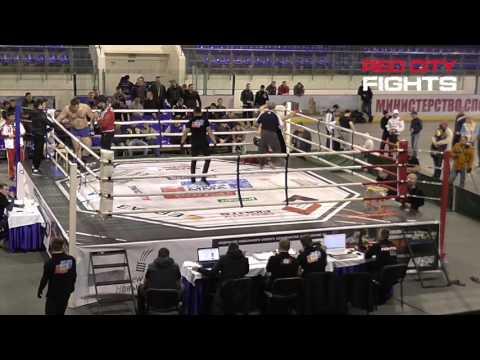 Бой №087: Д. Карчагин - М. Ивонин. MMA, чемпионат ПФО - 2016 (пред)