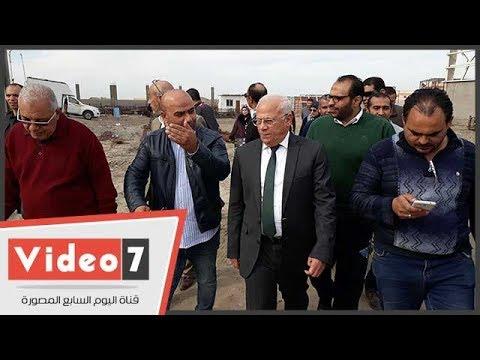 محافظ بورسعيد يتفقد أعمال إنشاء مصنع لإنتاج إطارات السيارات  - 15:22-2017 / 12 / 11