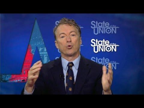 Rand Paul weighs in on Trump-Lewis feud