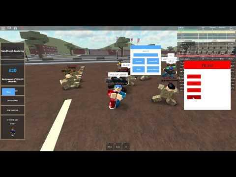 Roblox Exploiting 1 Sandhurst Military Academy V4 Youtube