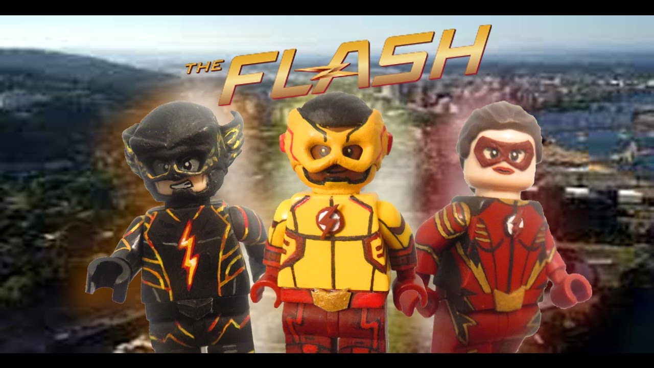 Custom lego set The Flash on CW Flash Vibe Zoom Killer Frost Jesse Quick