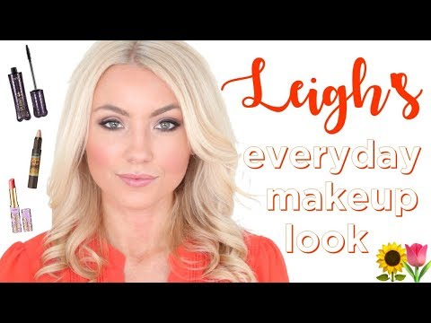 makeup tutorial: leigh's everyday look