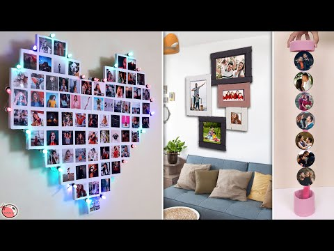 10 DIY Ways To Make Unique Crafty Photo Frames !!!