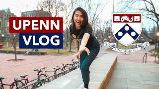 a day in the life at upenn // campus tour vlog 2020