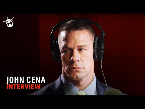 Testing John Cena's voice acting skills