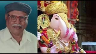 Shrimant Dagdusheth Halwai Ganpati va Ganpati cha Shilpakaranca Kathabhag