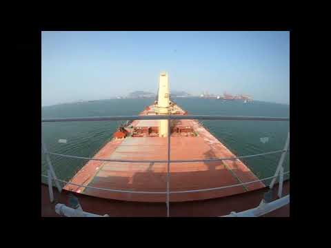 Time Warp Berthing Shekou Shipyard China 16 November 2019 MV Nord Baltic