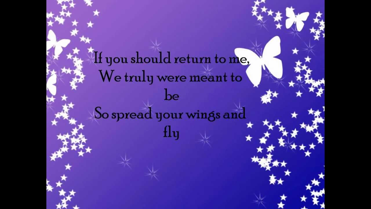 Mariah carey butterfly lyrics video