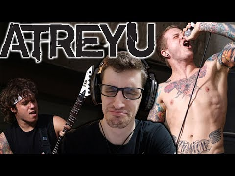 Hip-Hop Heads FIRST TIME Hearing ATREYU: Becoming the Bull REACTION