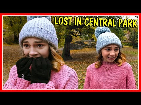 I LOST MY FAMILY IN THE PARK! | We Are The Davises