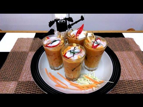 อาหารไทย วิธีทำ ห่อหมก ค็อกเทล สไตล์ เบาหวิว [HD]