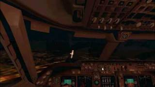 Boeing 747 Landing At Cairo Night By Captain Kristian Sohdy Thumbnail
