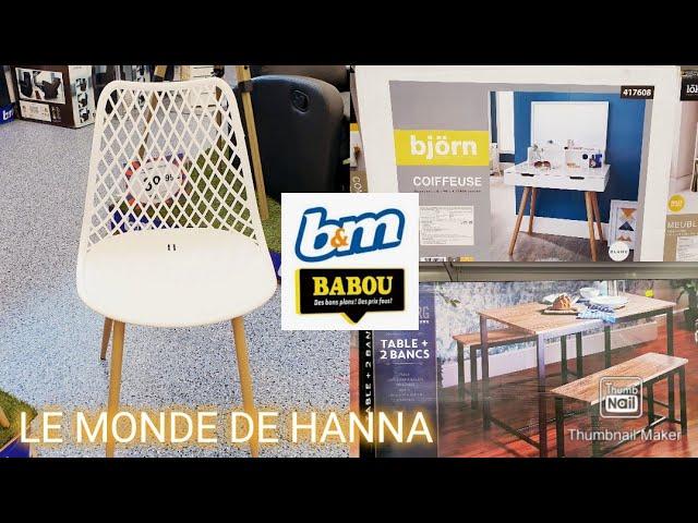 Babou B M Arrivage 17 06 Mobilier Nouveautes Youtube