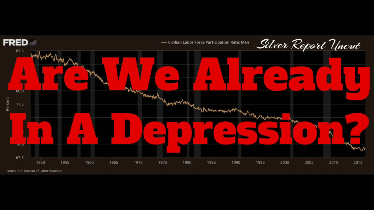 Are We Already In A Depression? How Is That Different Than A Recession? Economic Narratives