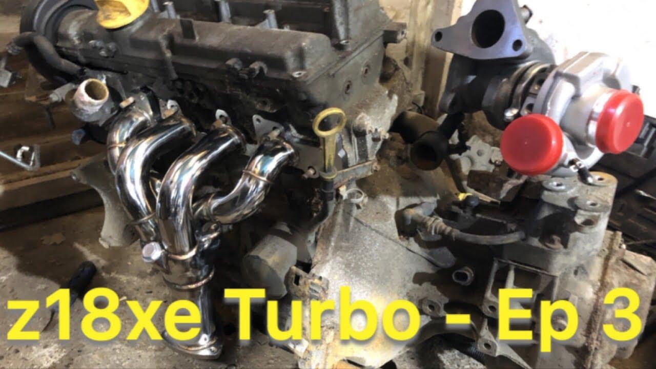Vauxhall z18xe Turbo Build Ep3 - Manifolds