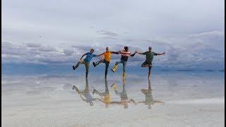 Самое красивое место в мире. Боливия. Солончак Уюни.
