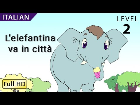 "Rosa Goes to the City: Learn Italian with subtitles - Story for Children ""BookBox.com"""