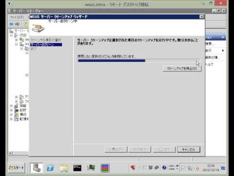 WSUS How to Cleanup Volume(Nihongo)
