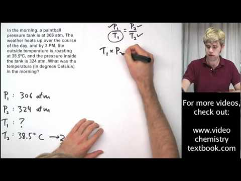 Gas Laws (solutions, examples, worksheets, videos, games