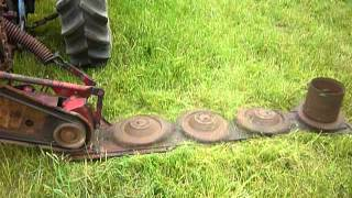 Disc Mower Without Cover