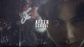 BTS AU; After School