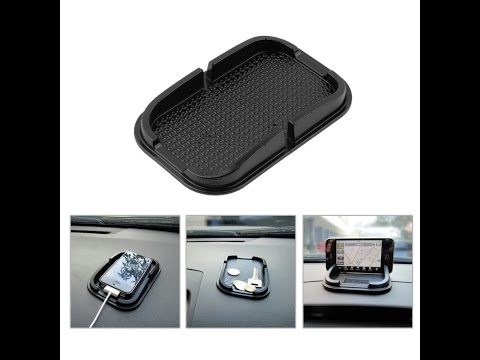 [Review]Car Anti Slip Rubber Holder/Pad Installation & Review
