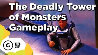 The Deadly Tower of Monsters - Gameplay at E3 2015