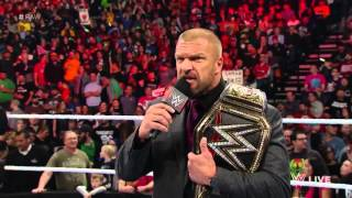 The Rock Returns to Challenge Triple H For the WWE Championship.