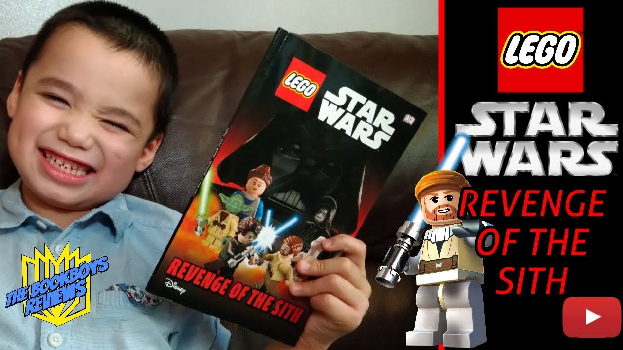 Lego Star Wars Revenge Of The Sith Book Review By Bookboyarchie For Tbbr Dk Readers Disney Youtube