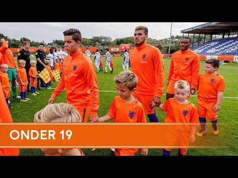Oranje onder 19 - Malta