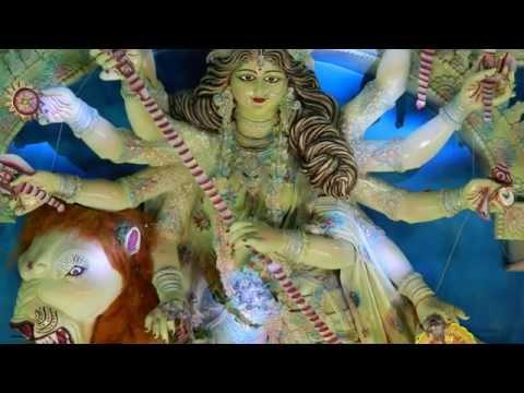 Beautiful sculpture of Maa Durga Bilaspur (C.G.) 2014
