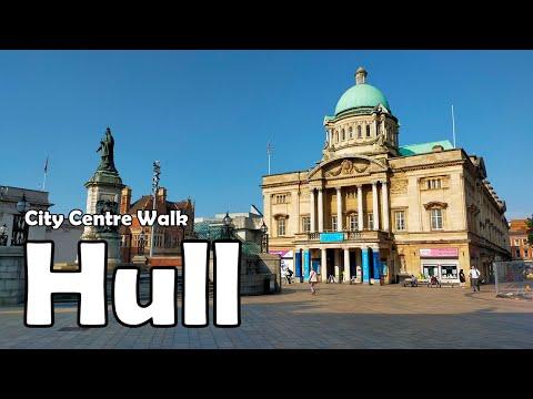 Download Hull City Centre Walk【4K】  Let's Walk 2021
