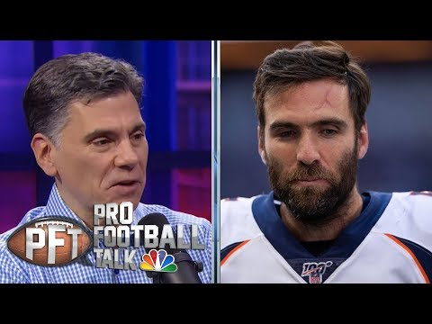 Joe Flacco Not Happy With Denver Broncos' Conservative Offense | Pro Football Talk | NBC Sports
