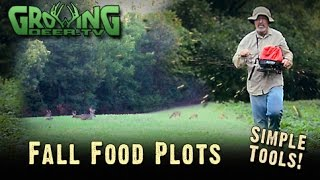 Deer Hunting: Secrets For Quick Fall Food Plots (#252) @GrowingDeer.tv