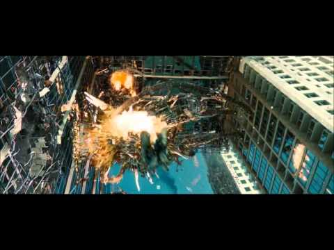 Transformers 3 Dark of The Moon :Optimus vs Shockwave's Driller