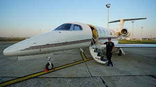 Arriving in Style: Nice to Budapest with Valtteri Bottas & NetJets!