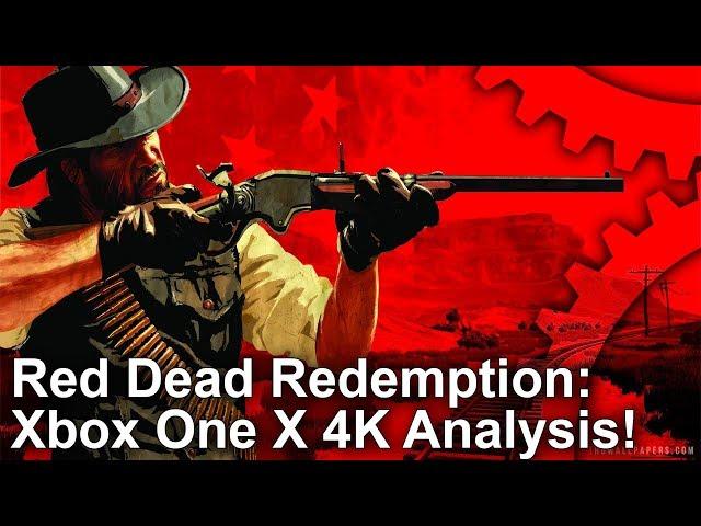 Xbox One X's 4K Red Dead Redemption looks sensational • Eurogamer net