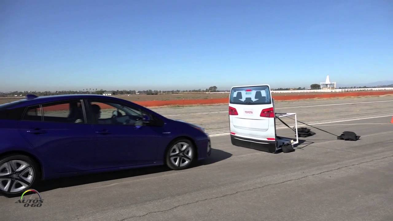 2016 Toyota Prius with Toyota Safety Sense Systems