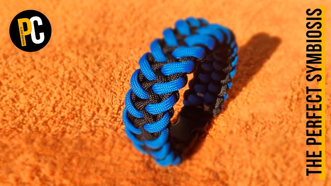 How to make The Perfect Symbiosis | Paracord Bracelet tutorial