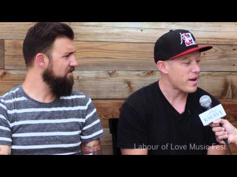 Kutless interview at Labour of Love Music Festival 2014