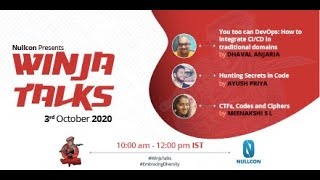 Winja Talks | 03 Oct 2020