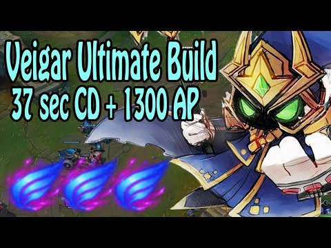 Über 1000 AP Veigar - Ultimate Build - 37 SEC ULTI CD